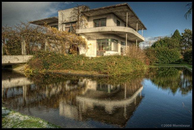 Villa Jongerius voor renovatie